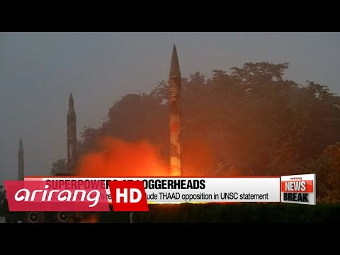 UN statement on N. Korea missile launch thwarted amid THAAD row