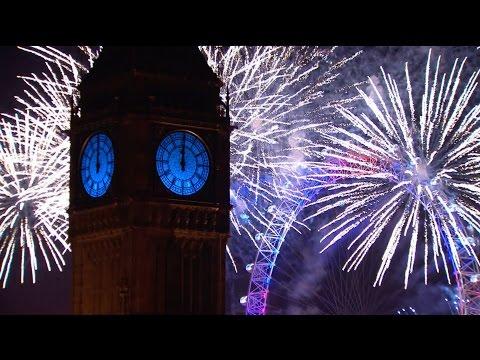London Fireworks 2016 - New Year's Eve Fireworks - BBC One