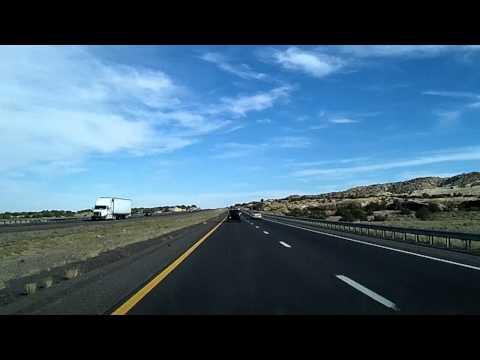 Interstate 40: Grants to Albuquerque Time Lapse