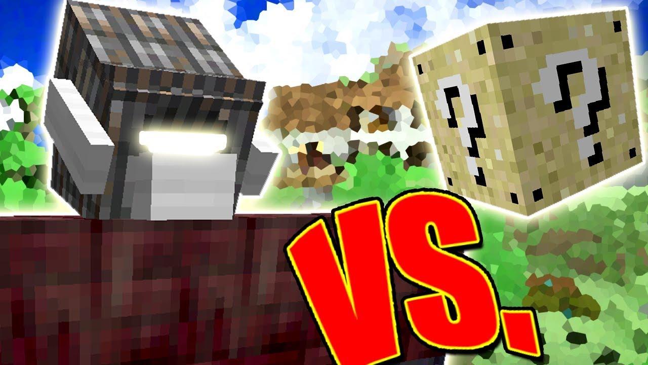 Cyclops Golem Vs Lucky Block Minecraft Lucky Block Challenge