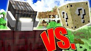CYCLOPS GOLEM VS. LUCKY BLOCK (MINECRAFT LUCKY BLOCK CHALLENGE)