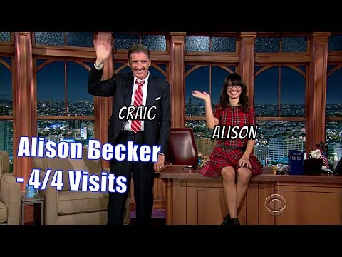 Alison Becker  Is Being Filthy Excusable?  44 Visits In Chronological Order
