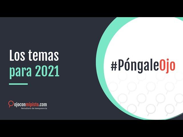 Los temas para 2021