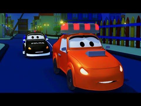 A Super Patrulha: caminhão de bombeiro & carro de polícia - A sirene de Amber foi roubado!