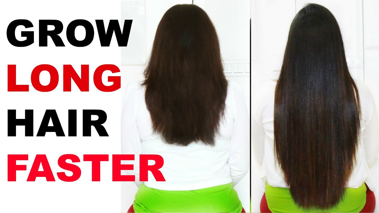How To Grow Your Hair Long In A Week Naturally