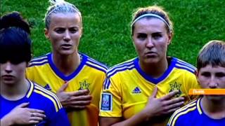Украинская женская сборная по футболу уступила англичанкам 2:1