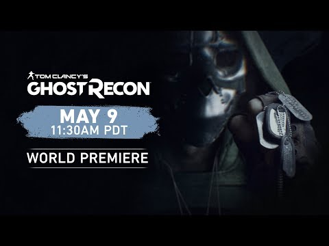 Watch Ghost Recon's new game announcement right here