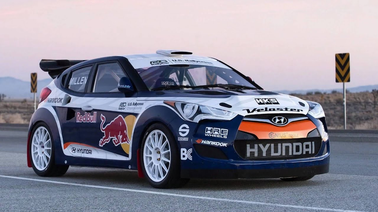2011 Hyundai Veloster Rally Car - YouTube