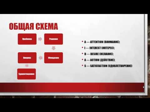 видео: Структура продающего текста
