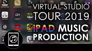Virtual Studio Tour for iPad Music Production 2019