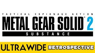 Metal Gear Solid 2: Substance - PC Ultra Quality (3440x1440)