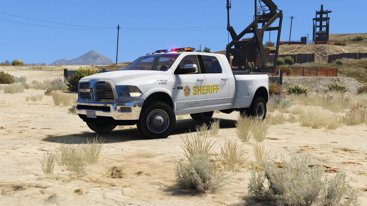 Police ram 3500 gta 5 police car youtube sciox Images