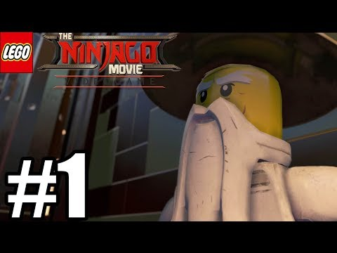 LEGO Ninjago Movie Videogame Gameplay Walkthrough Part 1 - PS4 Pro streaming vf