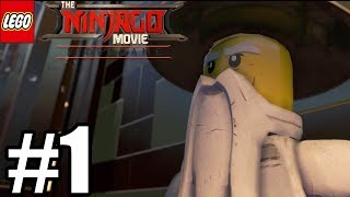 LEGO Ninjago Movie Videogame Gameplay Walkthrough Part 1 - PS4 Pro