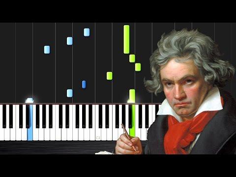 Ludwig van Beethoven - Fur Elise - Piano Tutorial by PlutaX