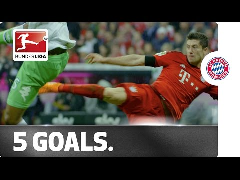 High Five! Lewandowski's Remarkable Record Show