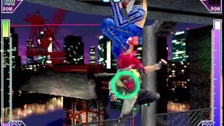 Psychic Force 2012 - [Arcade, Taito] Short gameplay (1997)