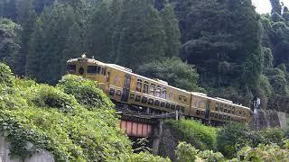 2015/9/12 スイーツトレイン「或る列車」走行@豊後中川~天ヶ瀬間