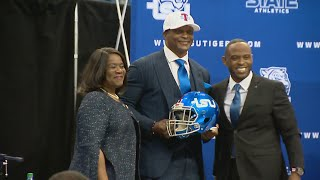 Eddie George Introduced As New Tennessee State Head Coach