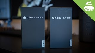 Just add Mods | Moto Z and Z Force (Droid Edition) Unboxing
