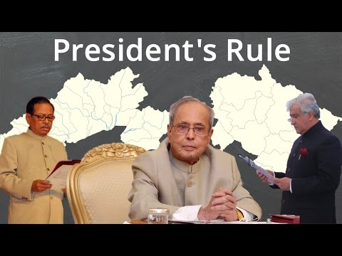 President's Rule in India's Constitution – The Centre v. State Battle