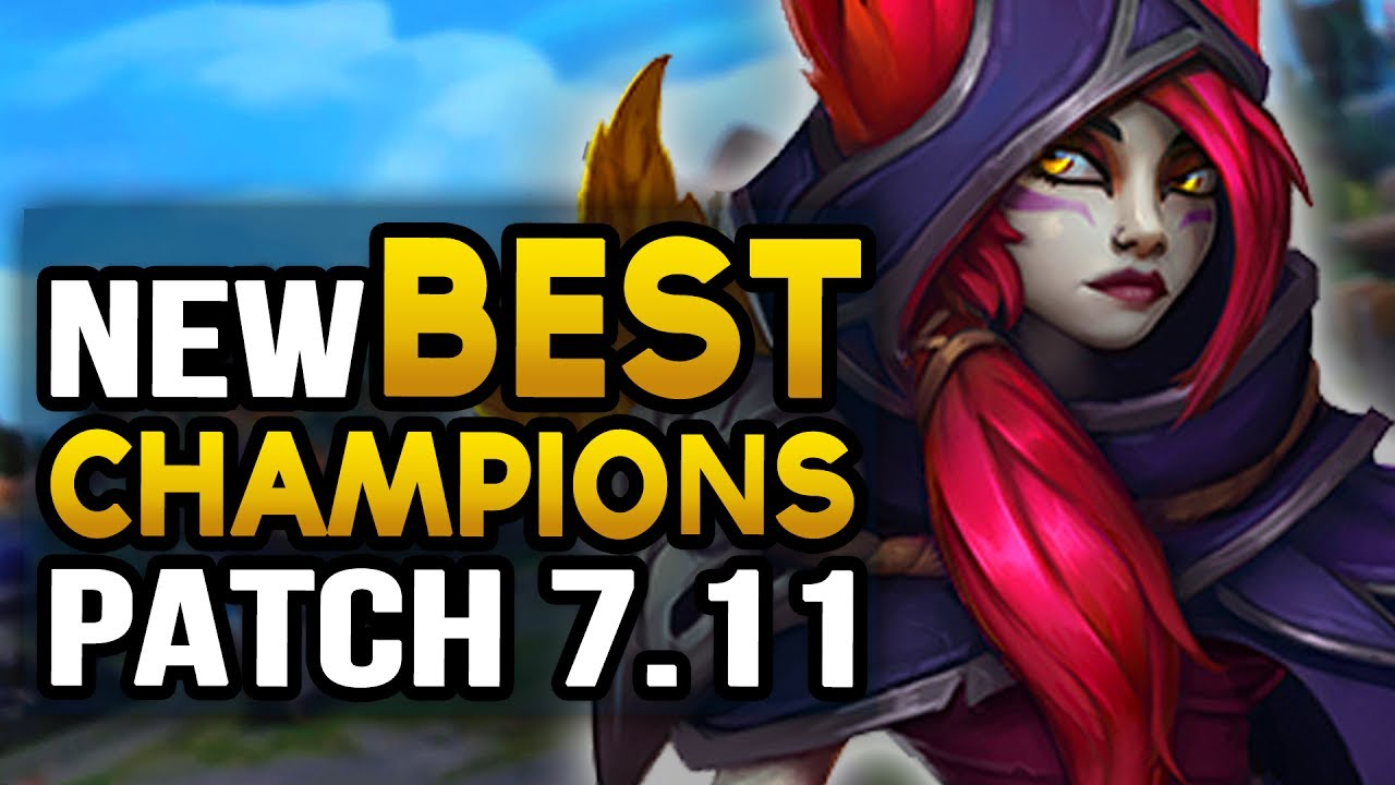 New Best Champions In 7 11 To Carry For Every Role League Of Legends Youtube