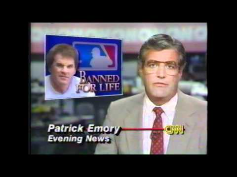 Pete Rose Banned from Major League Baseball -- CNN Coverage