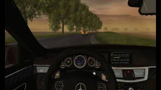 World Racing 2 Mercedes E63 Gameplay
