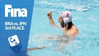 BRA vs JPN - Highlights - 3rd Place Game - 2016 FINA Men