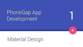 PhoneGap + Android Material Design - #1 - Setup [Deprecated]