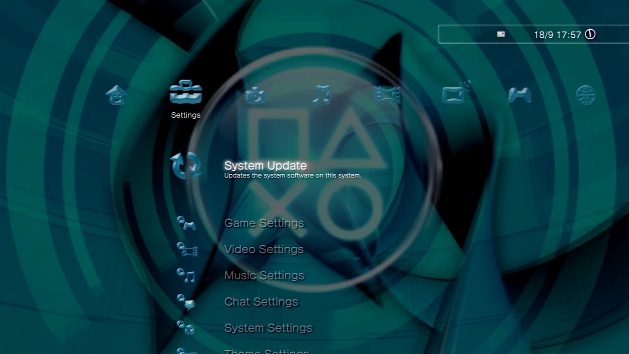 Blue PS3 Dynamic Theme for PlayStation 3 - YouTube