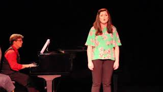 "Carley Levy performs ""Warm All Over"""