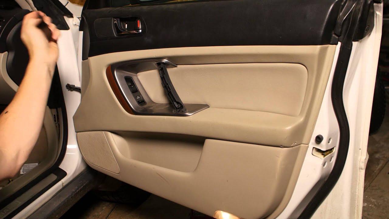 2005 Subaru Outback Inside Door Removal Doovi