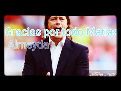 Adiós Matías Almeyda
