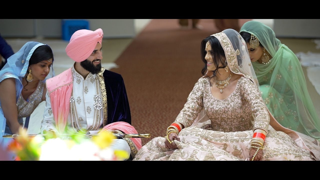 Pavneet Daniel Cute Sikh Wedding Nde