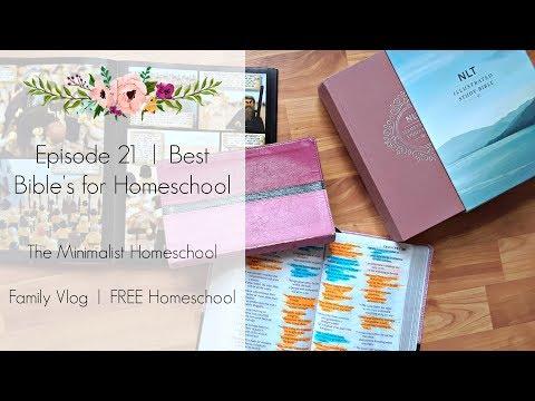Episode 21 | The Best Bibles for Homeschool | The Minimalist Homeschool