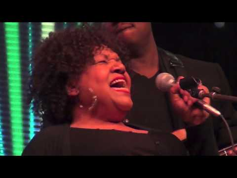 Jewel Brown performs with Milton Hopkins at Discovery Green, Houston TX