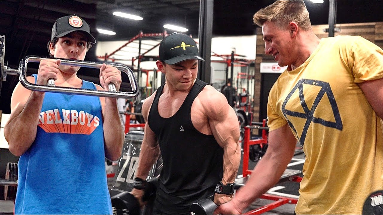 Massive Arm Workout With Steve Will Do It Nelk Boys And Bradley Martyn Sam S Health And Fitness Steve will do it still owes brad $15,000 so he takes a trip to florida to find steve and get his money back. massive arm workout with steve will do