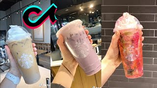 Making Starbucks Drinks TikTok - Best Starbucks Drinks On Tik Tok -  Tiktok Compilation