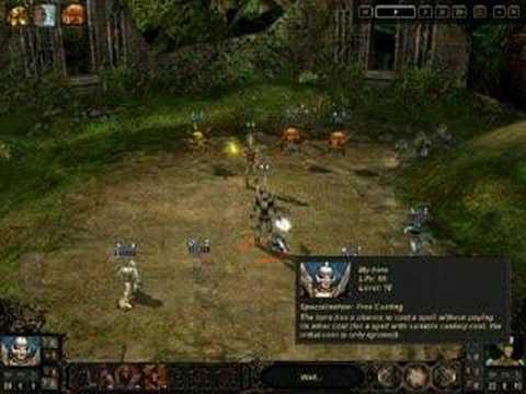 Etherlords 2 gameplay : Spirits vs Evil eyes |