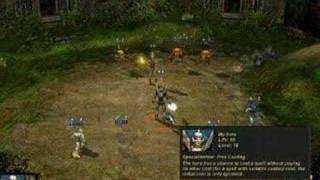 Etherlords 2 gameplay : Spirits vs Evil eyes