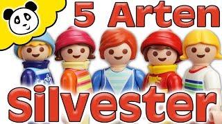 Playmobil Familie - 5 Arten Silvester - Playmobil Film