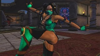 Mortal Kombat Armageddon JADE (TRAJE ALTERNATIVO) FLAWLESS VICTORY | VERY HARD (PS2)【TAS】