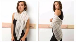 Вязание шали спицами для начинающих