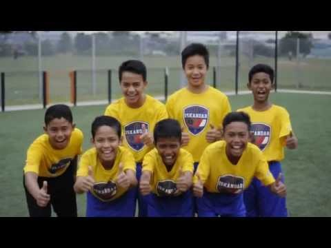 CCI U12 'Road to Amsterdam' 2014 for Cruyff Courts World Cup (Team Malaysia)