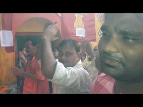 Durga puja arti hanuman Mandir Barrackpore