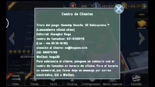 Hack gunship battle dinero infinito