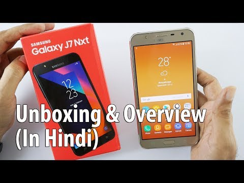 Samsung Galaxy J7 NXT Budget Smartphone Unboxing (Hyderabadi Hindi)
