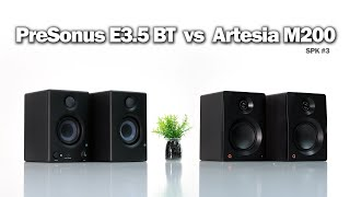 $130 - PreSonus Eris E3.5 BT  vs  $119 - Artesia M200 / Sound Comparison