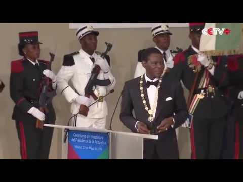 Obiang Nguema Sworn in as Equatorial Guinea's President